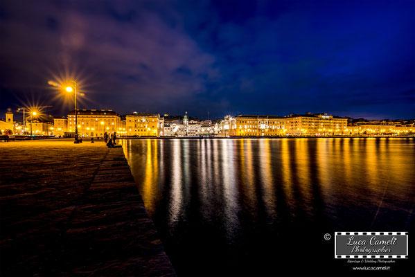 Trieste - Piazza Unità d'Italia, Molo Audace. © Luca Cameli Photographer