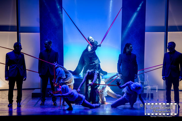 Ritratti In Teatro - Accademia di Teatro di Eugenio Olivieri, DEMONI