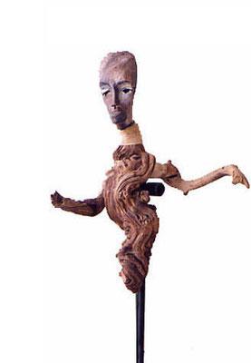 Gesticulation, 38 x 25 x 25 cm, Ghana 2000.