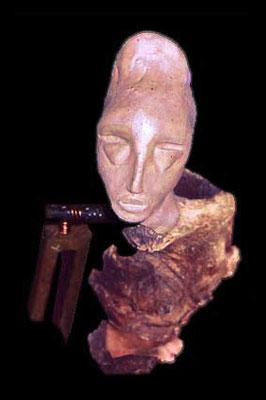 Raccourci, 50 x 17 x 12 cm, Ghana 2000.