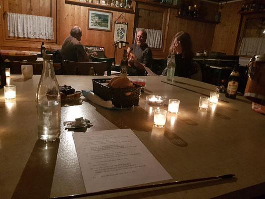 Und wunderbare Abende mit meinen Leuten :3