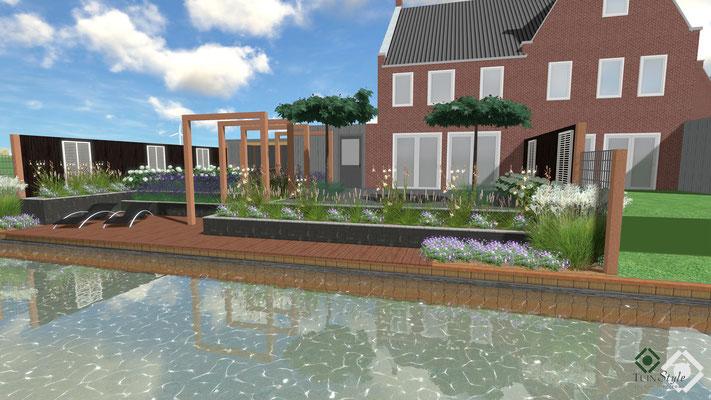 3d visualisatie tuinontwerp