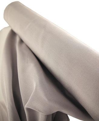 Ripsstoff silber/grau, 0.45m Breite