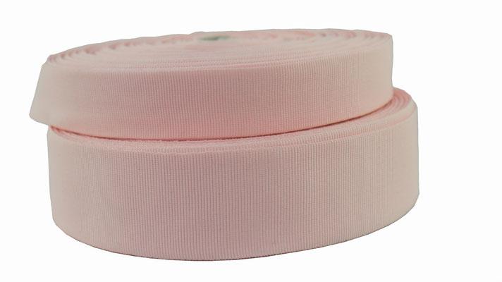 grosgrain no. 31, rosé. width 5 and 9