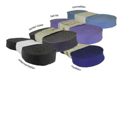 Ripsband no. 30, 3er Band in diversen, nicht mehr erhältlichen Farben