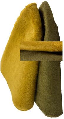 senf 1 und beidseitig_ altgold beidseitig Melusine Stumpe. Vintage, frisch gereinigt (solange der Vorrat reicht)