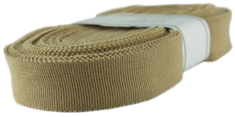 elastisches Futterband, beige