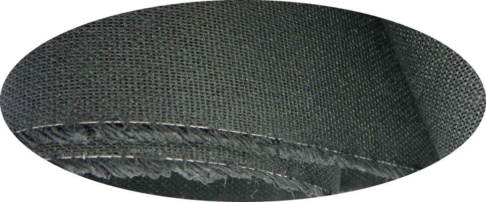 Etamine, schwarz, BW, 1,07 m Breite, einfach gesteift