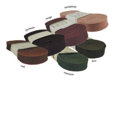 Ripsband no. 30, e3er Band in diversen, nicht mehr erhältlichen Farben
