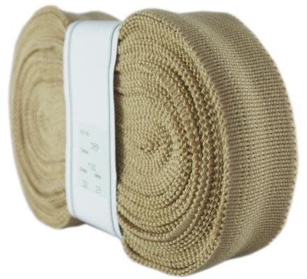 elastic lining ribbon, beige