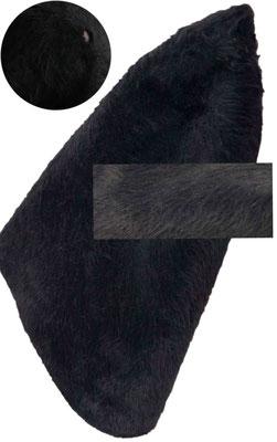 schwarz, 2stg., Loch im Knips