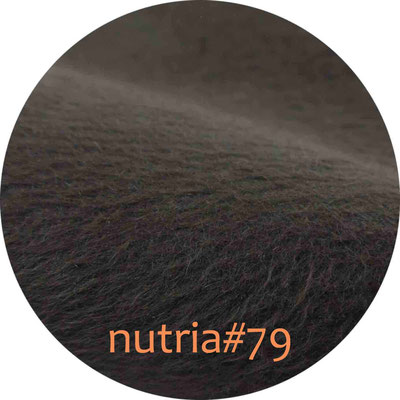 nutria (passend zu Ripsband #79) 1seitig