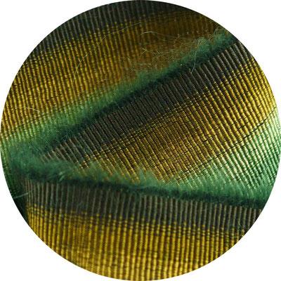 "Streifenband Mohair ""woodland"", 4cm Breite"