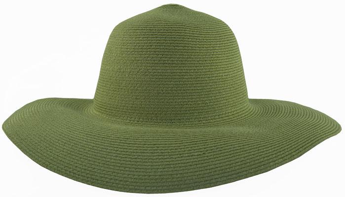 helles grün#60 Hanfcapeline, Rand ca. 10 cm, Bortenbreite ca. 0,6 cm