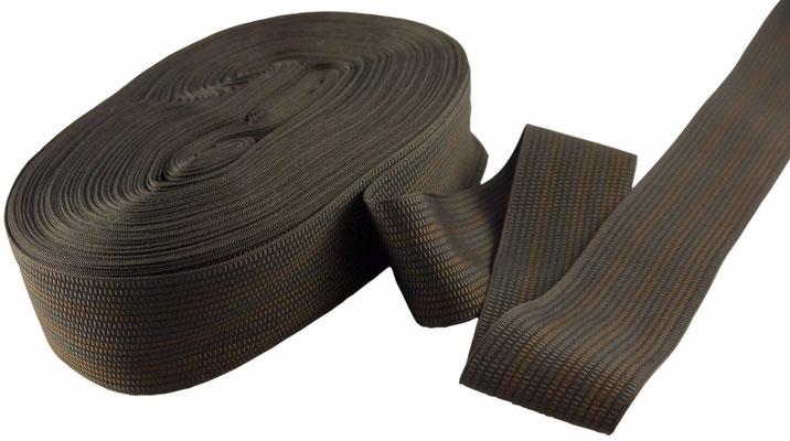 Herren Schmuckband Nr. H20 braun-kupfer, 4,5cm breit