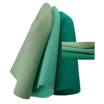 seagreen - cyan - bluegreen fur felt cone