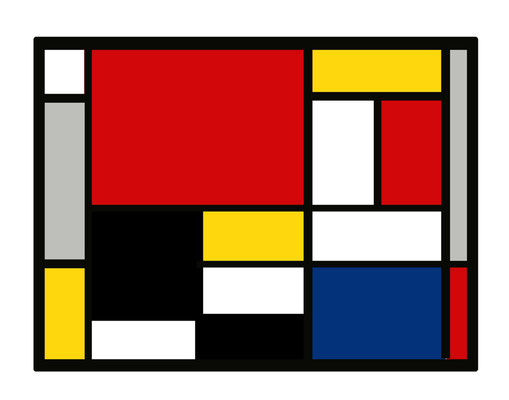 Artikel Nr. 4570 - Mondrian (Placemat 45 x 34 cm)