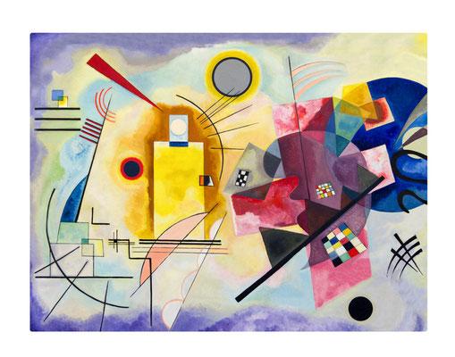 Artikel Nr. 4573 - Jaune Rouge Bleu - Kandinsky (Placemat 45 x 34 cm)