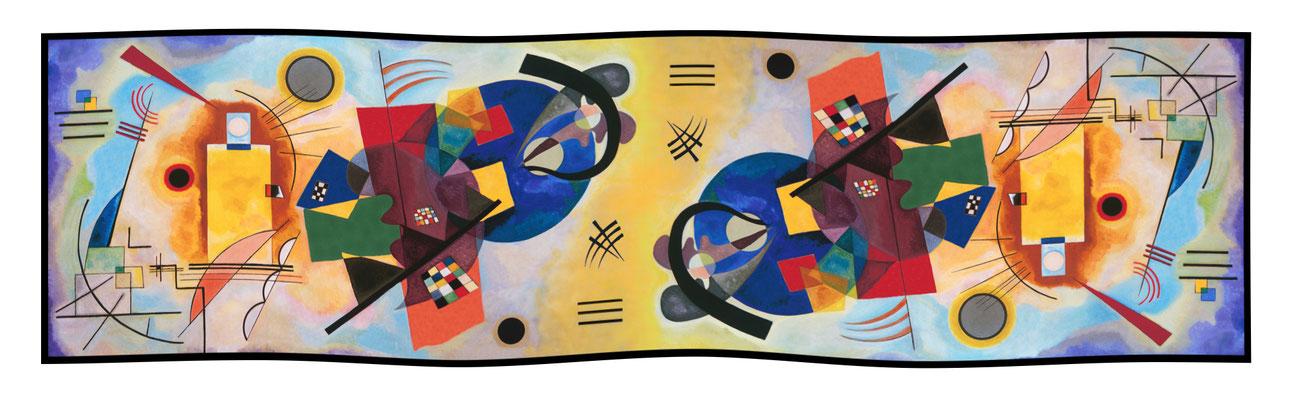 Art.-Nr. 2150 - Jaune-Rouge-Bleu - Kandinsky