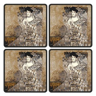 Artikel Nr. 4708 - Adele ivory (4 Untersetzer 10 x 10 cm)