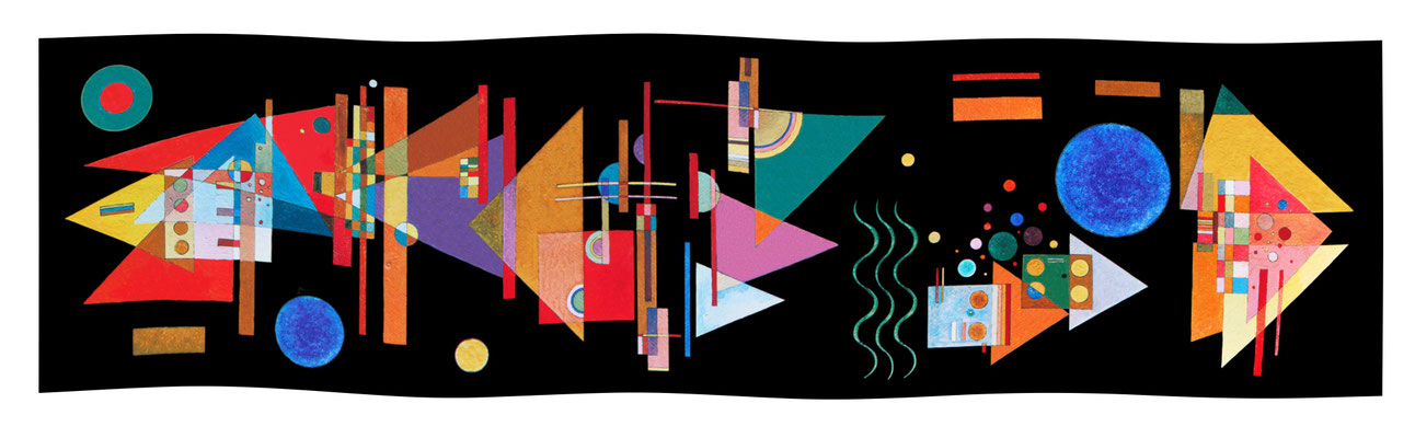 Art.-Nr. 2153 - Spitzen im Bogen - Kandinsky