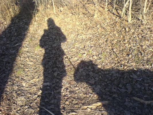Schatten einer engen Freundschaft