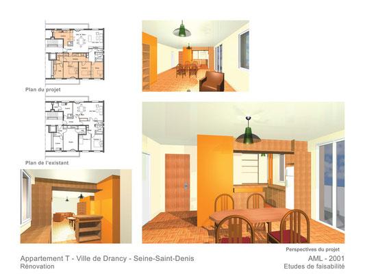 Appartement T  Drancy  2001