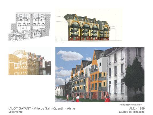 L'Ilot Gayant  Saint-Quentin  2003