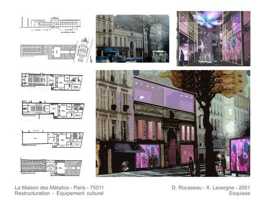 Maison des Métallos  Paris  2001