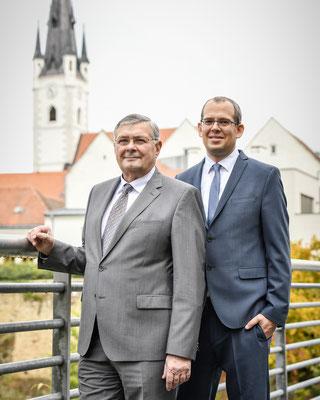 Businessportrait, Dr. Nagl und Mag. Ruisinger