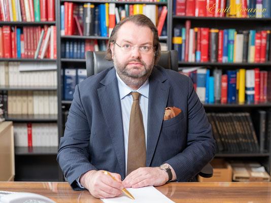 Businessportrait, Rechtsanwalt, Dr. Leonhard Reis