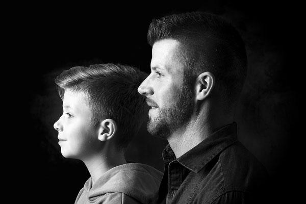 fotoshooting, studio, das generationsfoto
