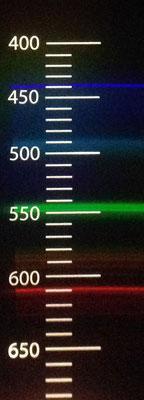 Linienspektrum Leuchtstoffröhre Spektrum