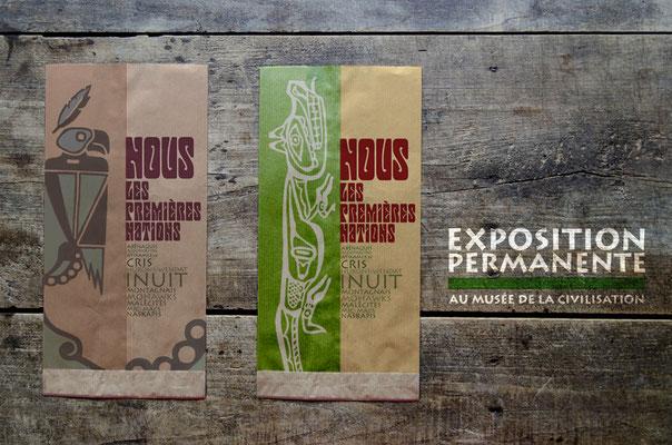Typography: Museum advertisement