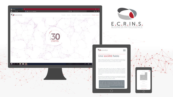 Conception Web : E.C.R.IN.S. SA   Business Intelligence   www.ecrins.ch