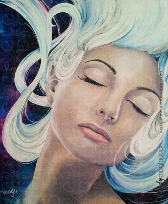 """""""Untitled"""" Acrylique sur toile, 40cm X 40cm"""
