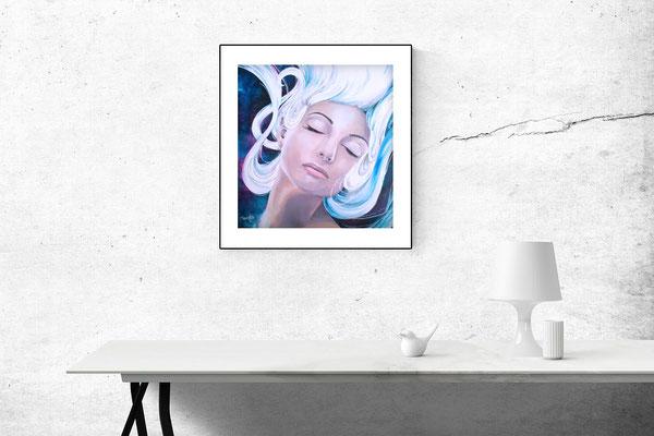 """Untitled"" Acrylic on canvas 40 cm X 40 cm - Framed"