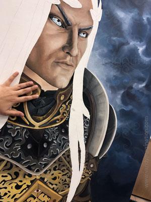 Cette toile est plus grande que vous imaginiez, hm?