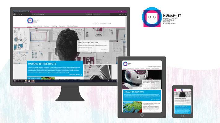 Conception Web : Institut Human-IST à l'Université de Fribourg