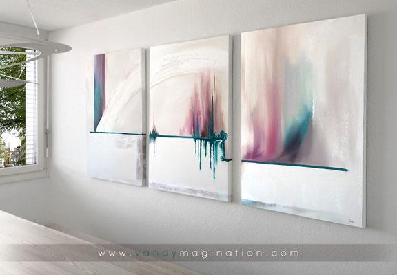 """Musing"", oil on custom canvas, 80cm x 120cm"