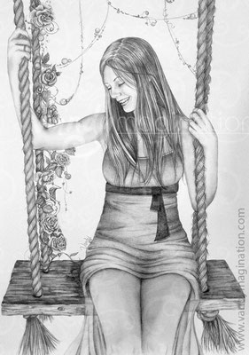 Pencil on paper, A2    Commission