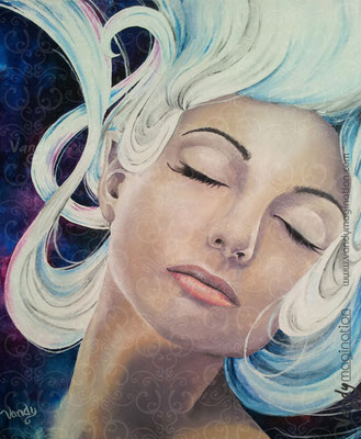 """Untitled"" Acrylic on canvas 40 cm X 40 cm"