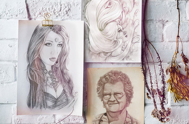 """""""A Collection of Drawings"""""""