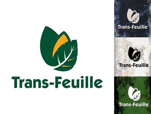 Conception de logo : Entreprise de transport de matériaux recyclés