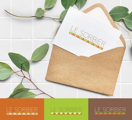 Conception de logo : Restaurant servant de la cuisine végétarienne