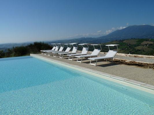 Vakantiehuis huren Casa Panoramica Italie Le Marche zwembad