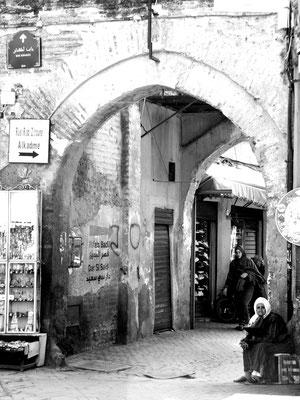 Mutter - Ort: Marrakesch/Marokko