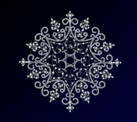 Nachgebauter Stern - achteckig