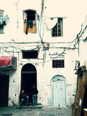 Abwarten - Ort: Casablanca/Marokko