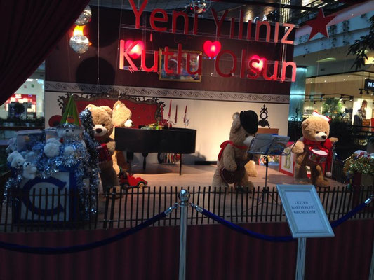Teddy Land - Mall of Istanbul (shopping Mall) - 2014
